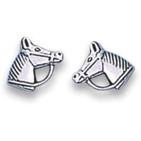 In confezione regalo in argento Sterling cavallo