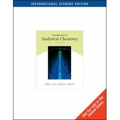 Fundamentals of Analytical Chemistry by Douglas A. Skoog (2003-07-31)