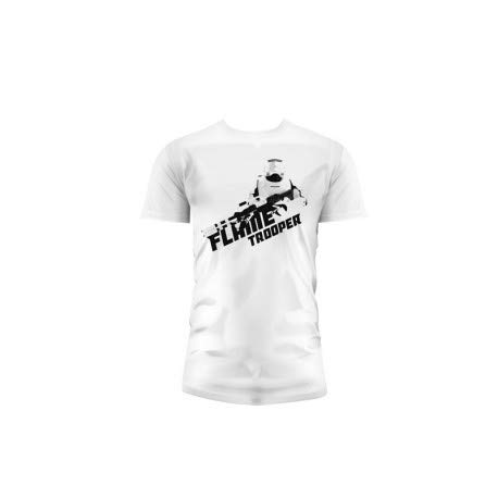 SD toys - T-Shirt - Star Wars Episode 7- Homme Flametrooper Blanc Taille L - 8436546898825