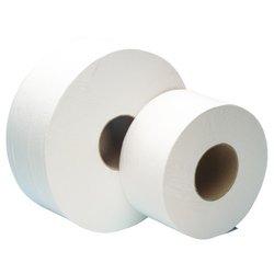 Mini Jumbo Toilettenpapierrollen, Weiß, 200 M - 2 Lagig