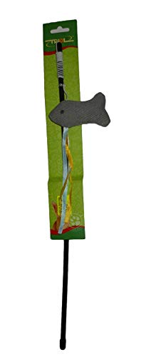 te (60 cm), mit Fisch (4 x 9 cm) und Bändern (20 cm) ()