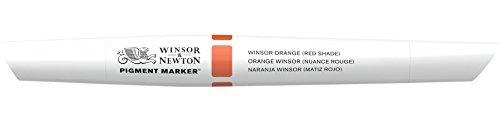 Winsor & Newton Pigment Marker, Orange (Red Shade) by Winsor & Newton