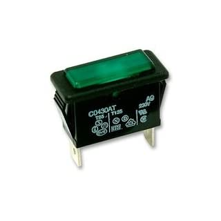 NEON INDICATOR, GREEN C0430ATNAC By ARCOLECTRIC