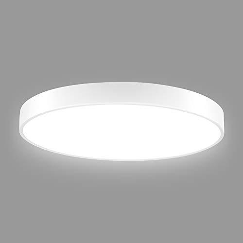 Led Deckenleuchte Badezimmer, 28W Ultraslim Dimmbar LED Deckenlampe für Badezimmer, Schlafzimmer,...