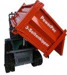 Raupen-Dumper Dreiseitenkipper - Briggs & Stratton / Yanmar 25T2 / Diesel L100N6 -