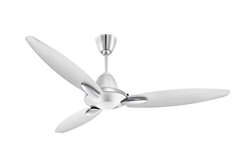 Usha Bloom Daffodil Goodbye Dust Ceiling Fan 1250mm, Sparkle White