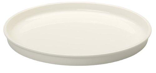 Villeroy & boch clever cooking piatto da portata rotondo, 30 cm, porcellana premium, bianco