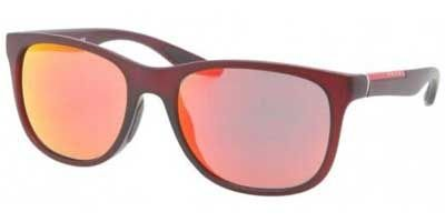 Prada-Linea-Rossa-Mens-03o-Amaranth-Demi-Shiny-FrameRed-Multilayer-Lens-Plastic-Sunglasses
