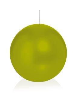 Bougie ronde 6 Ø 100 mm Vert, Brûler temps en heures 46, Bougies pour l'événement, partie, occasion, baptême, mariage, Avent, Noël, décoration