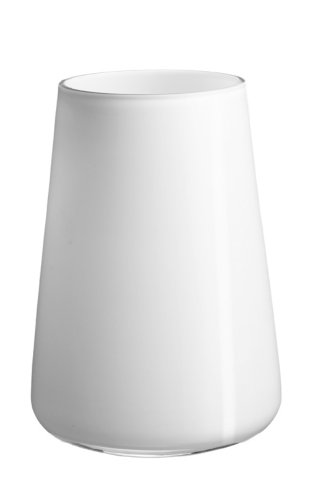 Villeroy & Boch Numa Vase Arctic Breeze, Glas, Weiß