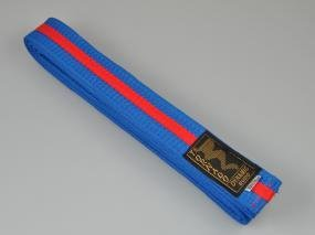 Cintura per Judo blu-rossa, 300 cm