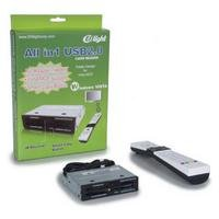 All in 1 USB2, 0 lector tarjetas PC mando distancia