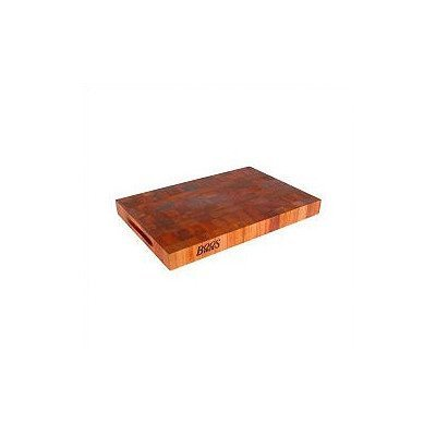 John Boos 1 3/4 Thick Cherry Chopping Block - Reversible with Hand Grips by John Boos