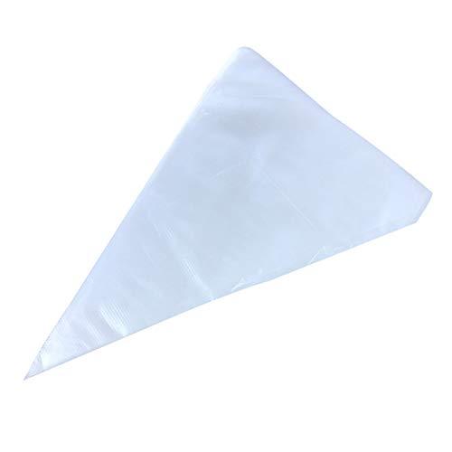 Depory Spritzbeutel, verdickt, Kunststoff, für Zuckerguss- oder Cupcake-Einweg-Spritzbeutel, 18,5 x 35 cm, 100 Stück
