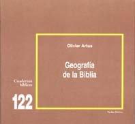 Geografía de la Biblia: Cuaderno Bíblico 122 (Cuadernos Bíblicos)