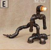 DZXYA Robot lampade a tubo bar Retro