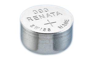 Pile de montre de Renata Renata fait-Swiss 393 ou SR754SW ou AG5 1.5V rapide navire (3 x 393 ou SR 754 SW)