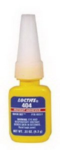 Loctite Quick Set 404, Industrial Adhesive 1/3 oz Btl by Henkel Corp.