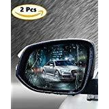 Wasserdichte Folie für Auto Rückspiegel notian Automobil Seite View Glas Anti-Fog Blendfreie Film Seite Fenster Regendicht Folie-2Stück (Lkw-fenster-folie)