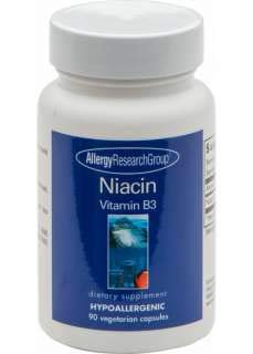 Allergy Research Group Niacin Vitamin B3 250 mg 90 Veg Caps