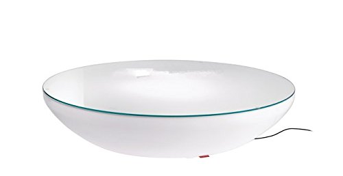 Preisvergleich Produktbild Gowe D80Fashion Halbkreis LED beleuchtet Möbel, Lounge Variation LED, LED Couchtisch wiederaufladbar für Bars, Veranstaltungen, Weihnachten