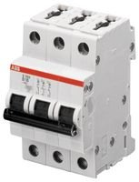 Best Price Square CIRCUIT BREAKER, THERMAL MAG, 3 POLE S203-C16 By ABB (Circuit Voltage Breaker)