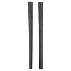 ic! berlin Bügelenden 1 Paar (2 Stück) 85mm schwarz oder grau (schwarz)