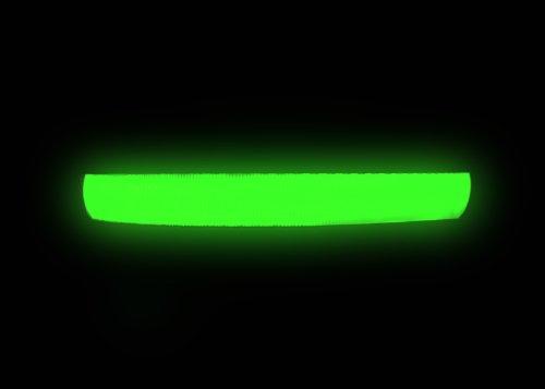 """Hunde Leuchthalsband LED Halsband Hundehalsband Hunde-Halsband """"Zandoo"""" Leuchthalsband für Hunde inkl. Batterie in der Farbe grün Haustiere Katzen Größe M (ca. 40-50 cm) NEU von der Marke PRECORN - 5"""