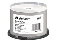 Verbatim DVD-R 16x 4.7GB DVD-R 50Stück(e), 43755