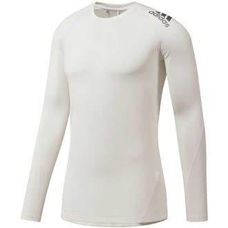 d7dcb05ec9ba adidas Herren Climawarm Golf Crew - Baselayer mädchen Pullover, Weiß  (Blanco CY9291), Medium