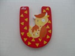 Sevi Alphabet Buchstaben Graffiti Animal, Buchstabe Uhu U