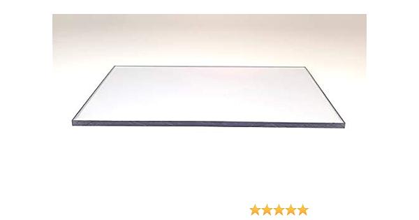 6,0 mm Lexan /® Polycarbonat Massivplatte Tafelformat 1250 x 680 mm transparent//farblos// glasklar