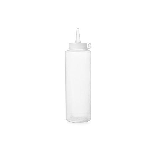 Hendi 558027 Spenderflasche für Saucen, 0,20 L, Polypropylen, Transparent
