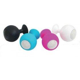 Logilink Iceball Speaker for Smartphone/Tablet - Black