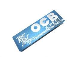 OCB - Papel para Liar Cigarrillos X-perT Azul, Caja de 50 Librillos