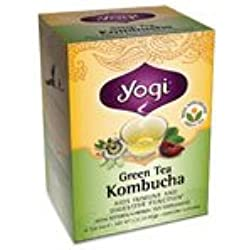 Té verde para Kombucha, 16 bolsas