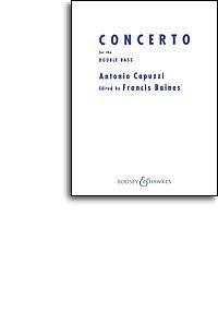 Antonio CAPUZZI: Double Bass Concerto in F (Double Bass/Klavier). Noten für Kontrabass, Klavierbegleitung