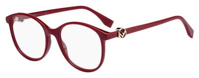 Fendi Damen FF 0299 C9A 51 Sonnenbrille, Rot (Red)