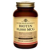 Solgar Biotin 10000 mcg Vegetable Capsules