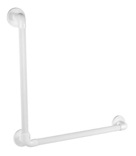 Preisvergleich Produktbild GAH-Alberts 140243 90° Winkelgriff - geriffelt,  Kunststoff,  weiß,  Schenkellänge: 600 mm