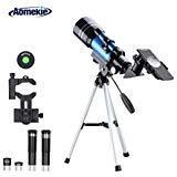 Aomekie Télescope Astronomique pour Enfant 70/300 Lunette Astronomique...