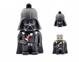 64 GB Star Wars Darth Vader Mini Electronics USB Flash Drive 2.0 Memory Stick