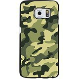 Camouflage Army Green Pattern Phone Case Awesome Fan Protective Cover for Samsung Galaxy S6 Edge (Army Camouflage Pattern)