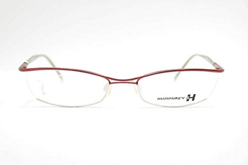 Eschenbach Humphreys 2525 50 51[]18 135 Rot halbrand Brille Brillengestell Neu