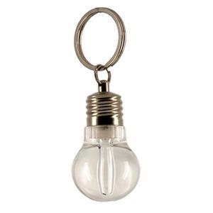LED-Taschenlampe Schlüsselanhänger (Mehrfarbig Glühbirne)