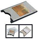 PremiumX Compact Flash CF to PC Card PCMCIA Adapter Card Reader