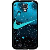 Water Droplets Background Nike Phone hülle Handyhülle Cover for Samsung Galaxy S4 I9500 Just Do It Luxury Design,Telefonkasten SchutzHülle