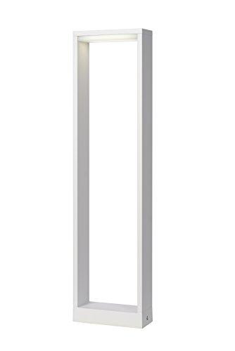 Lucide GOA - Borne Exterieur Extérieur - LED - 1x6W 3000K - IP54 - Blanc