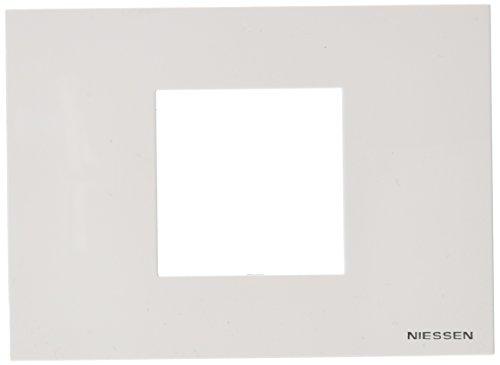 Niessen - n2472bl marco monocaja std 2 modulos zenit blanco Ref. 6522005261