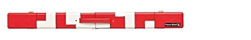 Powerglide Billardqueue, mit PATCHWORK-Hülle, 2 Stück, rot / White